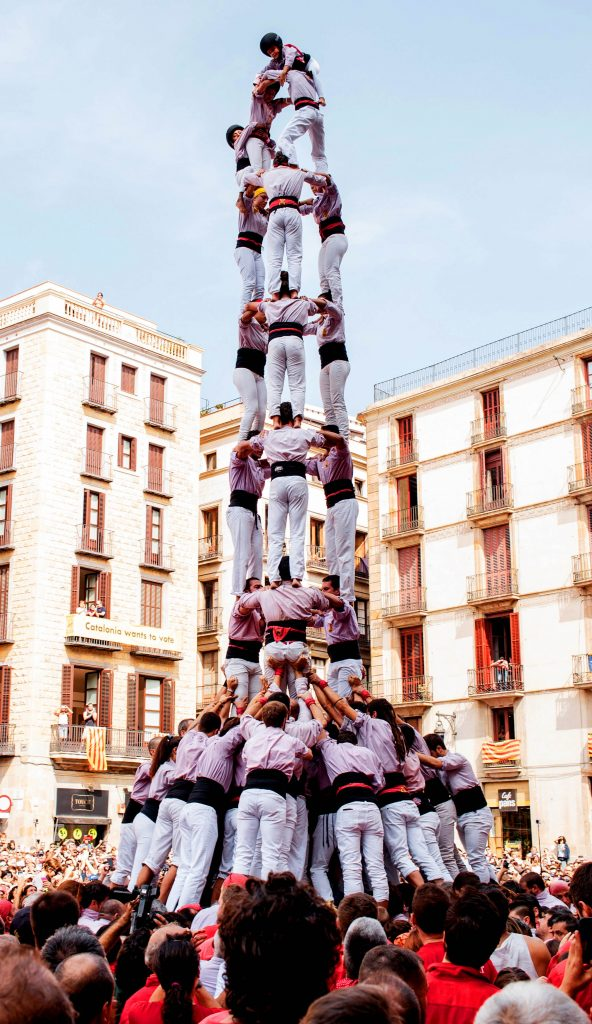 Train with the Castellers